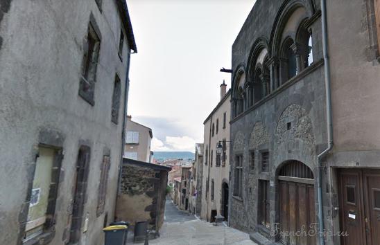 Clermont-Ferrand - Клермон-Ферран - достопримечательности, маршрут по городу, что посмотреть, фото - Монферран маршрут по городу, карта Монферрана - Maison de Eléphant