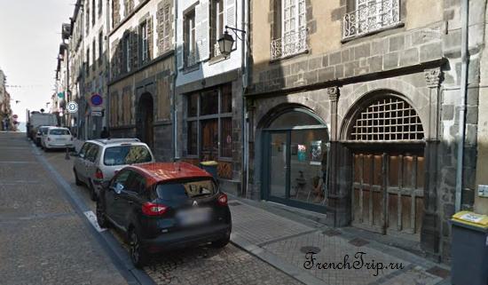 Clermont-Ferrand - Клермон-Ферран - достопримечательности, маршрут по городу, что посмотреть, фото - Монферран маршрут по городу, карта Монферрана - RUE DES CORDELIERS-11
