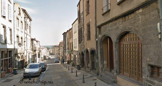 Clermont-Ferrand - Клермон-Ферран - достопримечательности, маршрут по городу, что посмотреть, фото - Монферран маршрут по городу, карта Монферрана - RUE DES CORDELIERS