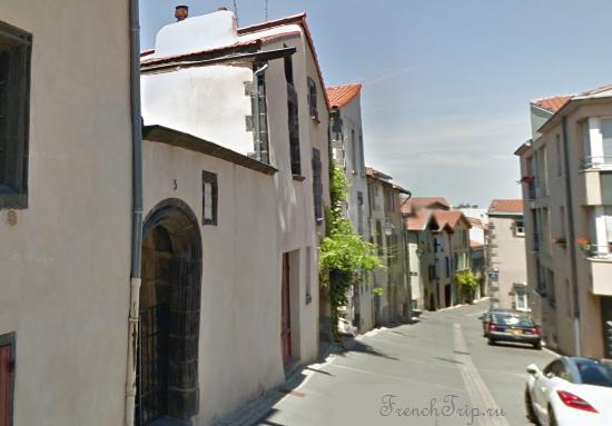 Clermont-Ferrand - Клермон-Ферран - достопримечательности, маршрут по городу, что посмотреть, фото - Монферран маршрут по городу, карта Монферрана - RUE MARMILHAT, дом архитектора