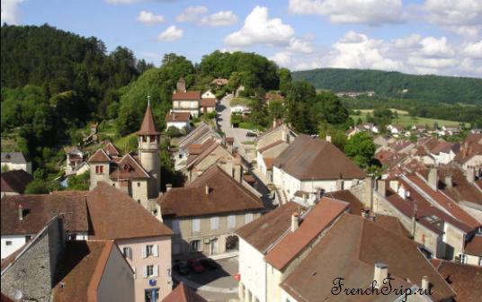 Orgelet (Оржеле), Франш-Конте, Франция - лучший путеводитель по городу. Как добраться, что посмотреть. Достопримечательности Оржеле, фото, маршрут по городу