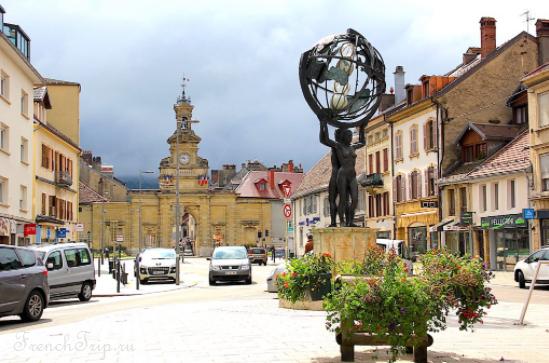 Pontarlier (Понтарлье), Франш-Конте, Франция - путеводитель по городу. Как добраться, что посмотреть, достопримечательности, фото, карта, маршруты по городу