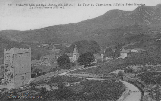 История Сален-ле-Бена (Salins-les-Bains), Франция - путеводитель по городу. История солеварен и термального курорта Сален