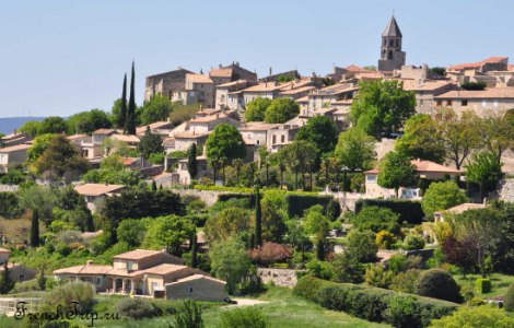 La Garde-Adhémar (Ла-Гард-Адемар), Франция - из самых красивых деревень Франции. Путеводитель: как добраться, что посмотреть, фото, достопримечательности