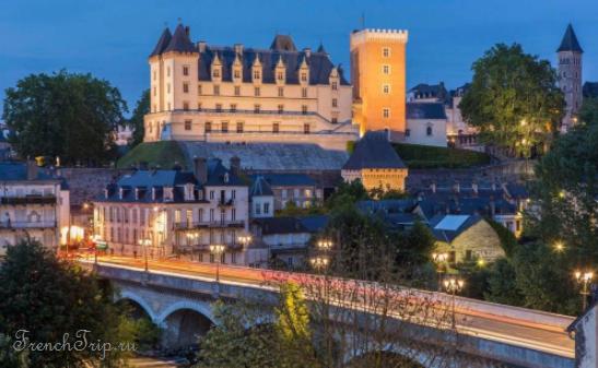 Pau (По), Аквитания, Франция - путеводитель по городу: как добраться (расписание, цены), что посмотреть (достопримечательности, маршрут, карта, фото)