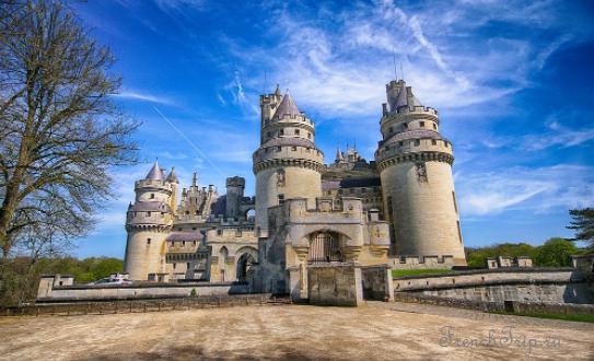 Château de Pierrefonds (Замок Пьерфон) - замки Франции в окрестностях Парижа. История Шато де Пьерфон, фото, билеты, время работы, как доехать из Парижа